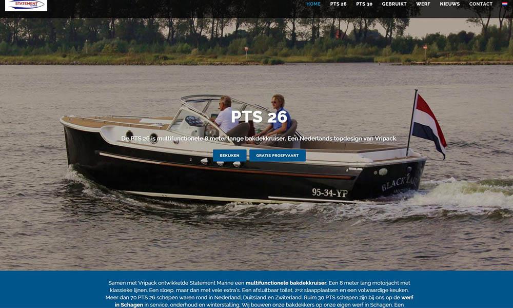 Nieuwe Website Statement Marine