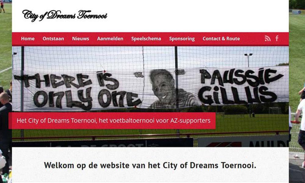 Sponsoring City Of Dreams Toernooi