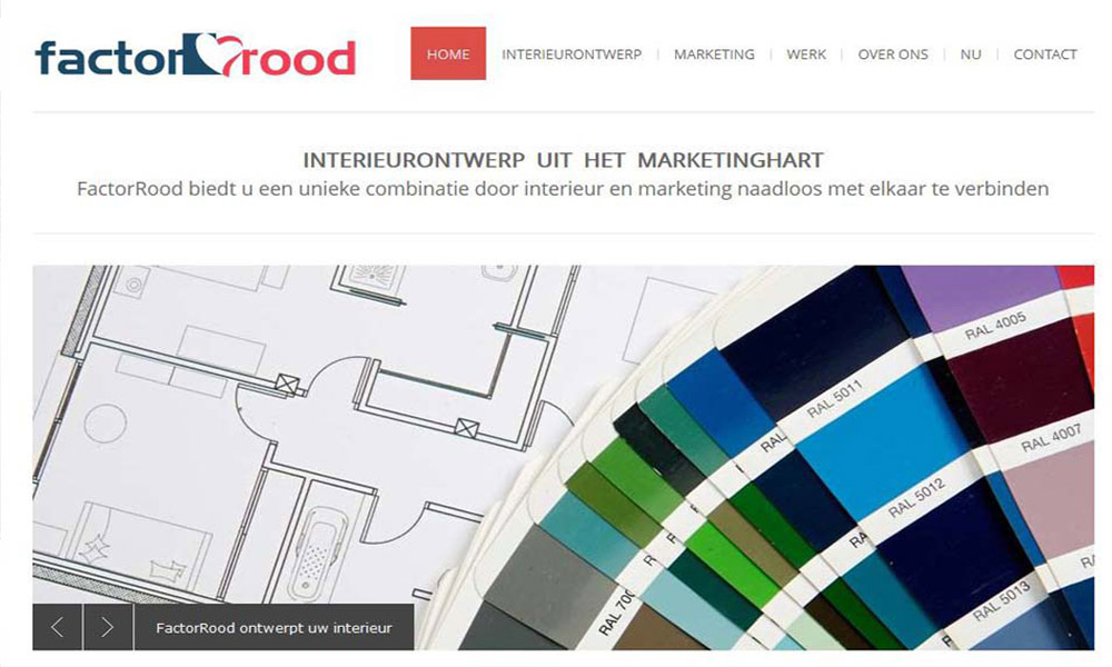 Website FactorRood Online