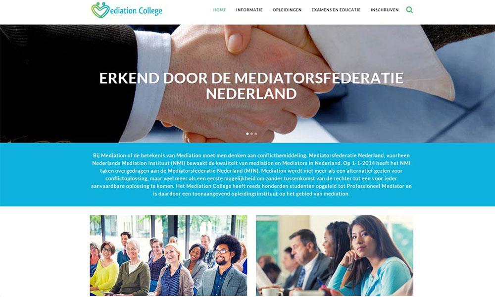 Website Mediation College