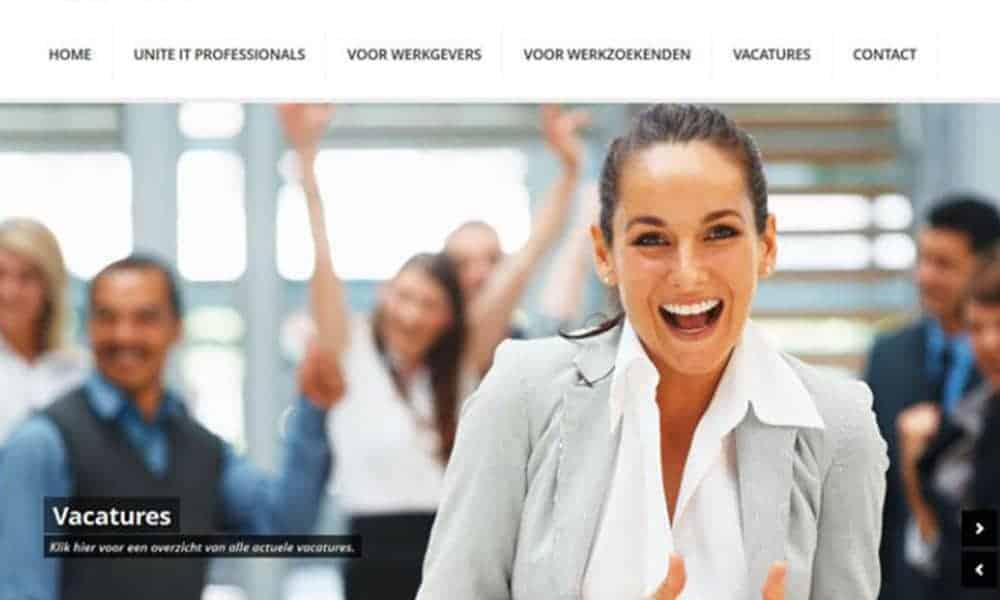 Website Unite IT Professionals Online